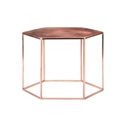Rose gold side table or coffee table from Bloomingville. For more like this…