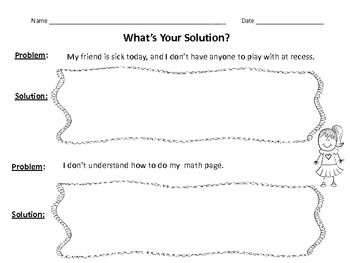problem solution writing prompts for lower elementary tpt  problem solution writing prompts for lower elementary tpt bie