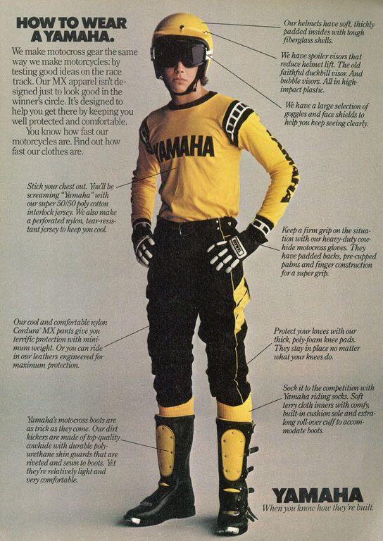 Yamaha Boy Yamaha Motocross Vintage Motocross Yamaha