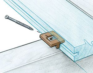 Deckwise Ipe Clip Extremekd For 1 4 Spacing Hidden