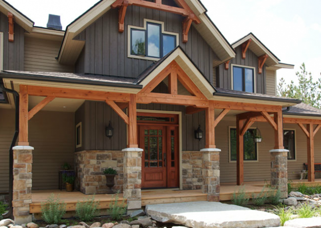 Stonerox Cottage Life House Exterior Exterior House Colors Rustic House