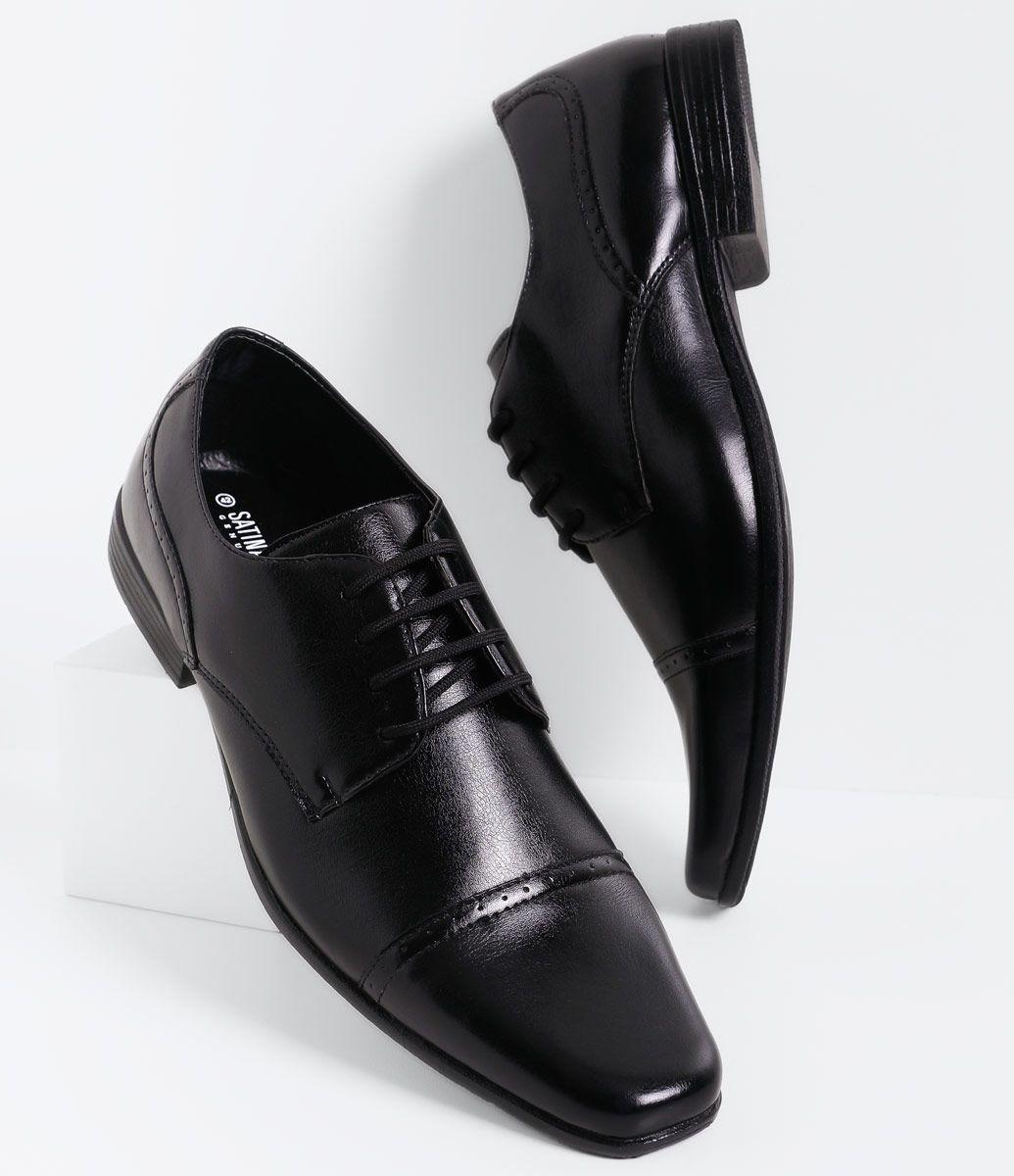 e94fc7d4a5 Sapato masculino Material  sintético Modelo social Marca  Satinato Genuine  COLEÇÃO VERÃO 2016 Veja outras opções de sapatos masculinos.