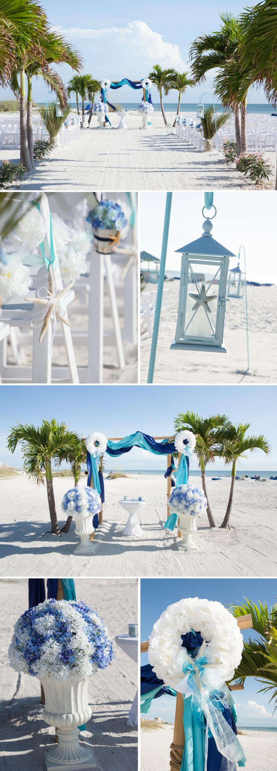 St. Petersburg Beach Wedding at The Grand Plaza Hotel