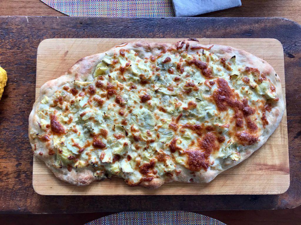 Dinner A Love Story Artichoke Pizza On The Fly Dinner A Love Storydinner A Love Story Artichoke Pizza Vegetarian Vegan Recipes Dinner