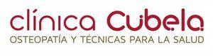 Logotipo de la Clínica Cubela, espacio dedicado al tratamiento de dolencias y mejora de la salud.