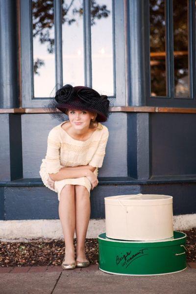 Hat Trick Beautiful Hats Fancy Girl Style