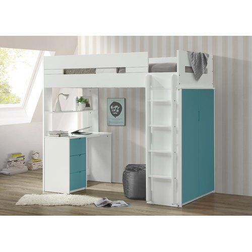 Abinash Twin Loft Bed images