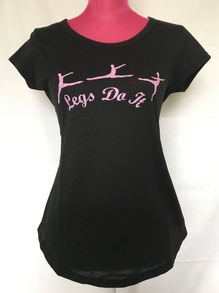 e7df25e0a551 Legs Do It Dance Gymnastics or Ballet Graphic Tee-shirt for Women ...