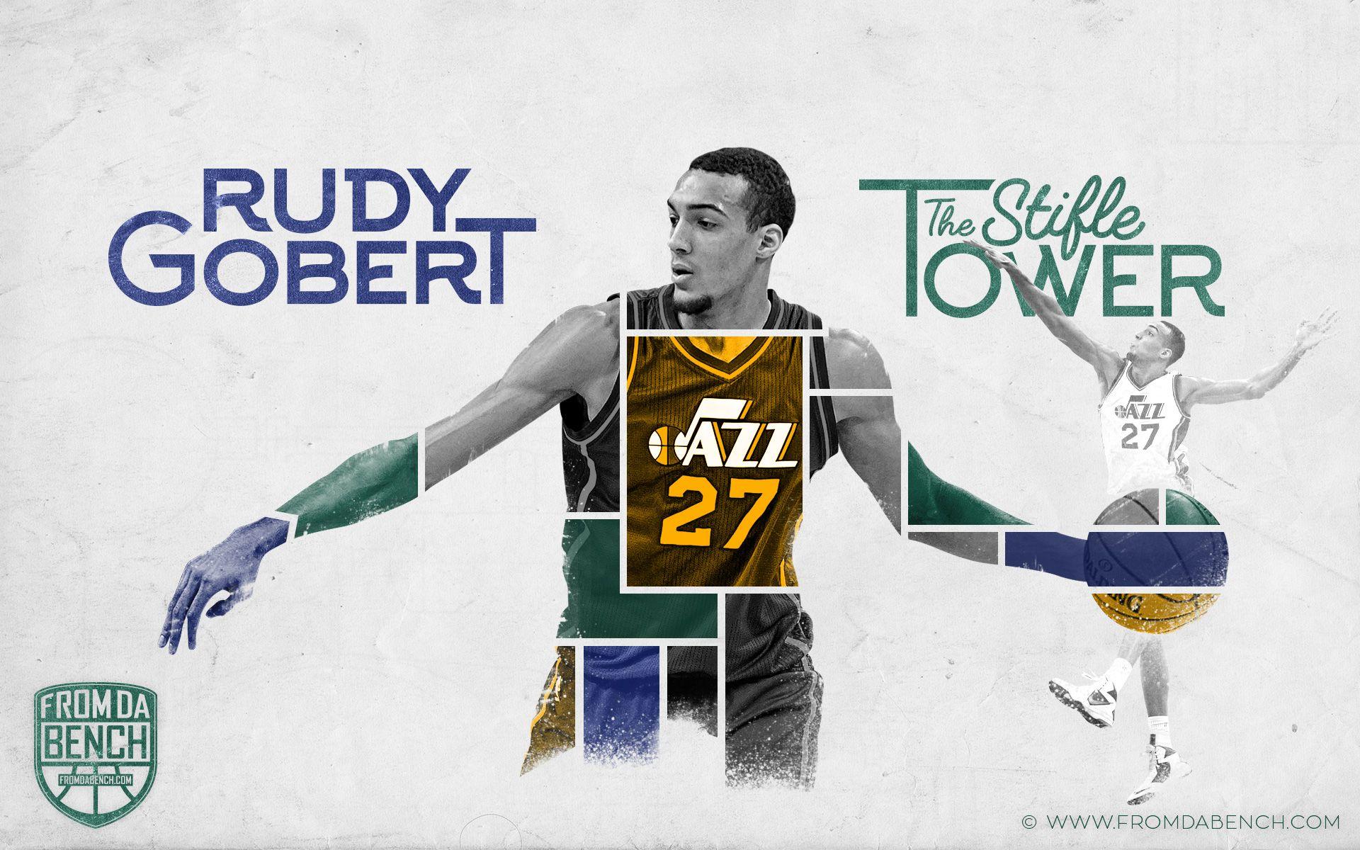Happy Birthday To My Man Rudy Gobert Hope You Get A Award Utah Jazz Basketball Utah Jazz Jazz Basketball