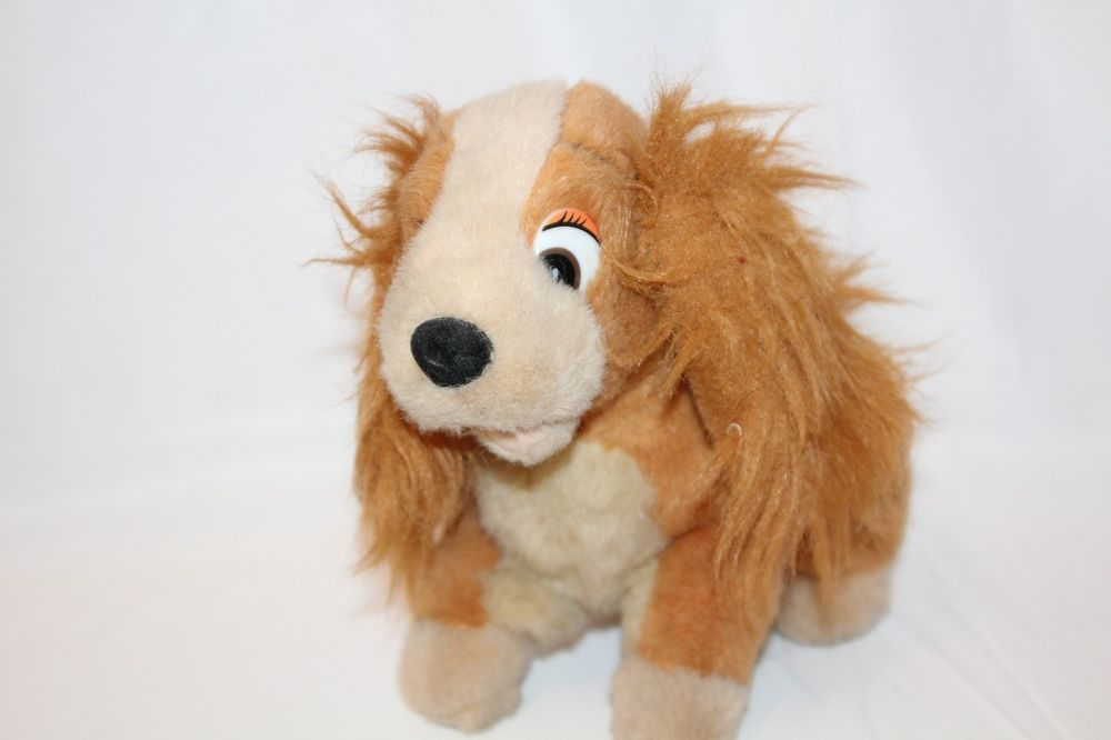 Disney Lady And The Tramp Lady Plush Stuffed Animal Toy Dog Puppy