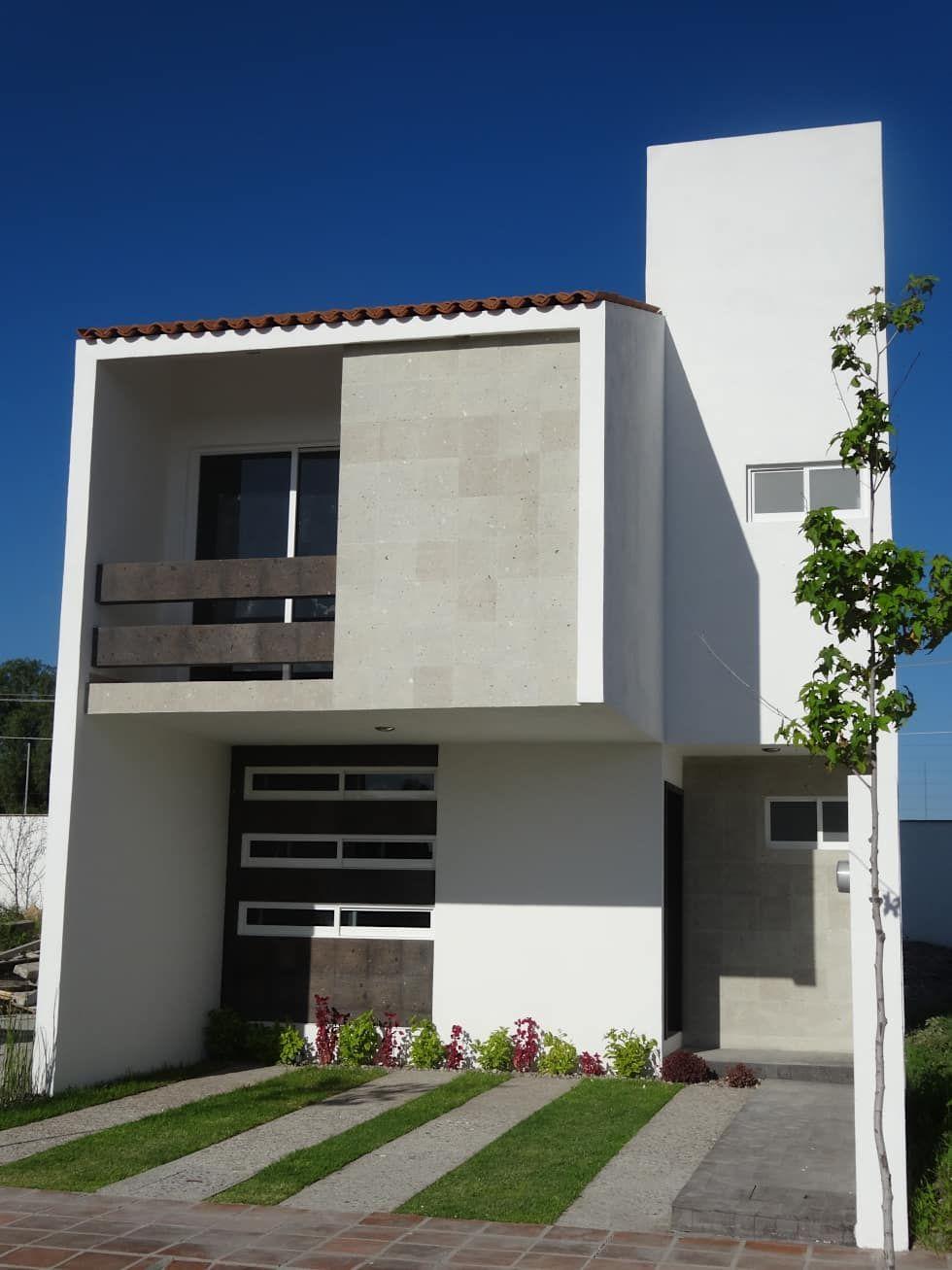 Casa ped casas de estilo por constructora arqoce en 2019 for Disenos de casas de playa pequenas