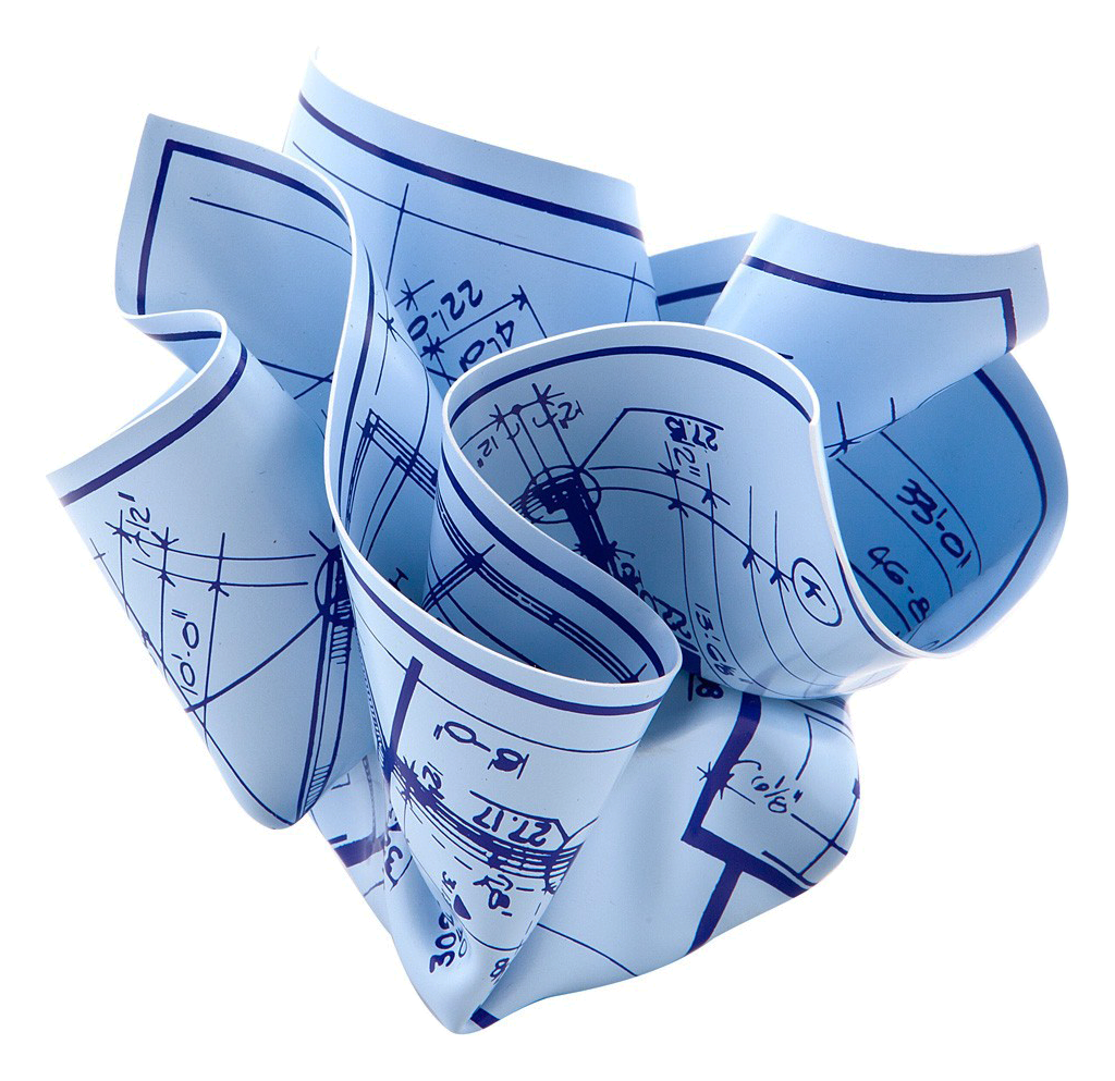 Architects blueprint paperweight by tibor kalman the decorating architects blueprint paperweight by tibor kalman malvernweather Gallery