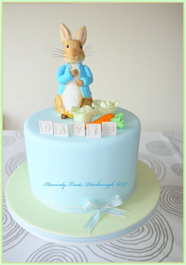 Peter Rabbit Cake By Heavenly Treats By Lulu Cakes