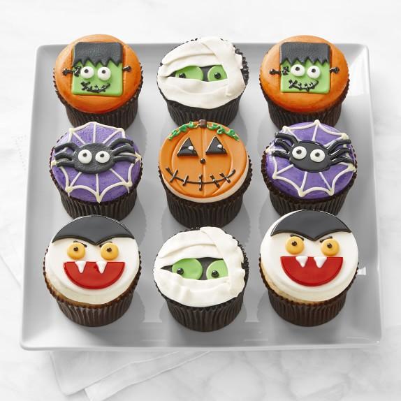 Halloween Cupcakes, Set of 9 | Williams Sonoma | Halloween ...