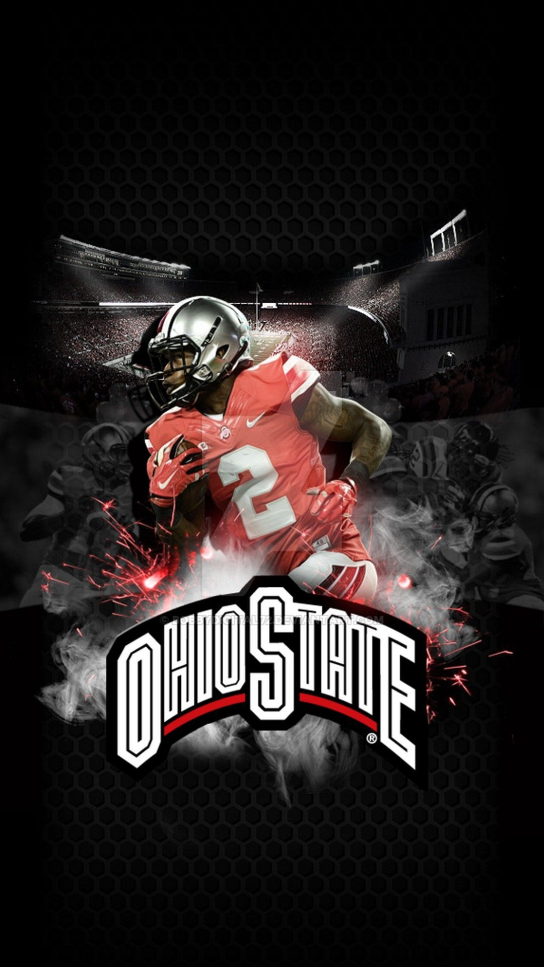 Ohio State Wallpaper In 2020 Ohio State Wallpaper Ohio State Buckeyes Football Ohio State Football Wallpaper