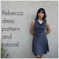 Rebecca Dress: a FREE sewing pattern @On the cutting floor