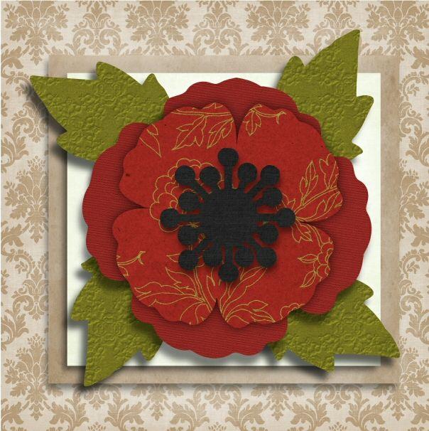 Free Svg Files Free Paper Flower Templates Poppy
