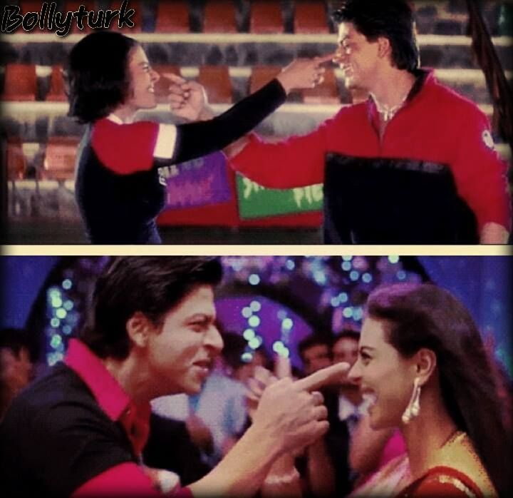 Nostalgia Time Kuch Kuch Hota Hai To Om Shanti Om Bollywood Memes Bollywood Actors Bollywood Couples
