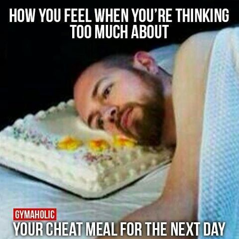 dont worry about your diet cheat day meme