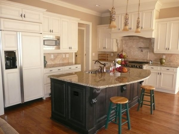 Kitchen Of The Week A Diy Ikea Country Kitchen For Two: 30 Giallo Ornamental Granite Countertops With Fabulous