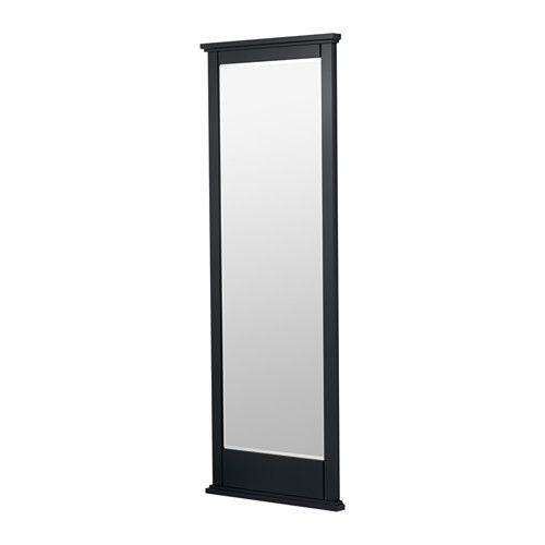 Soknedal miroir noir miroir en pied miroirs et miroir ikea for Miroir noir ikea