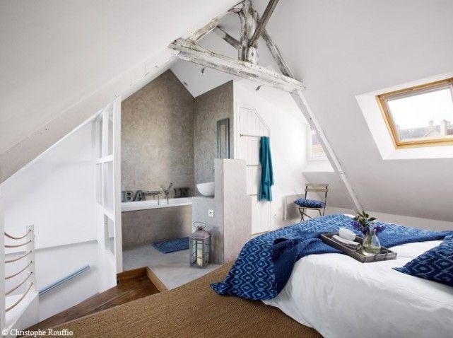 Une maison typique au bord de la mer on en rêve! Les combles