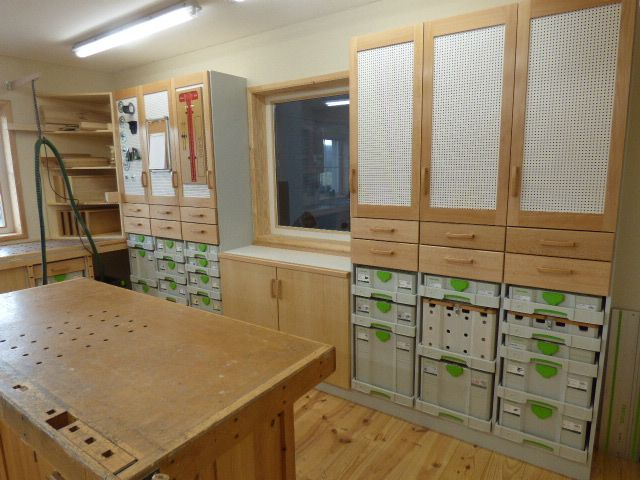 Photo of New sysport workbench and cabinets