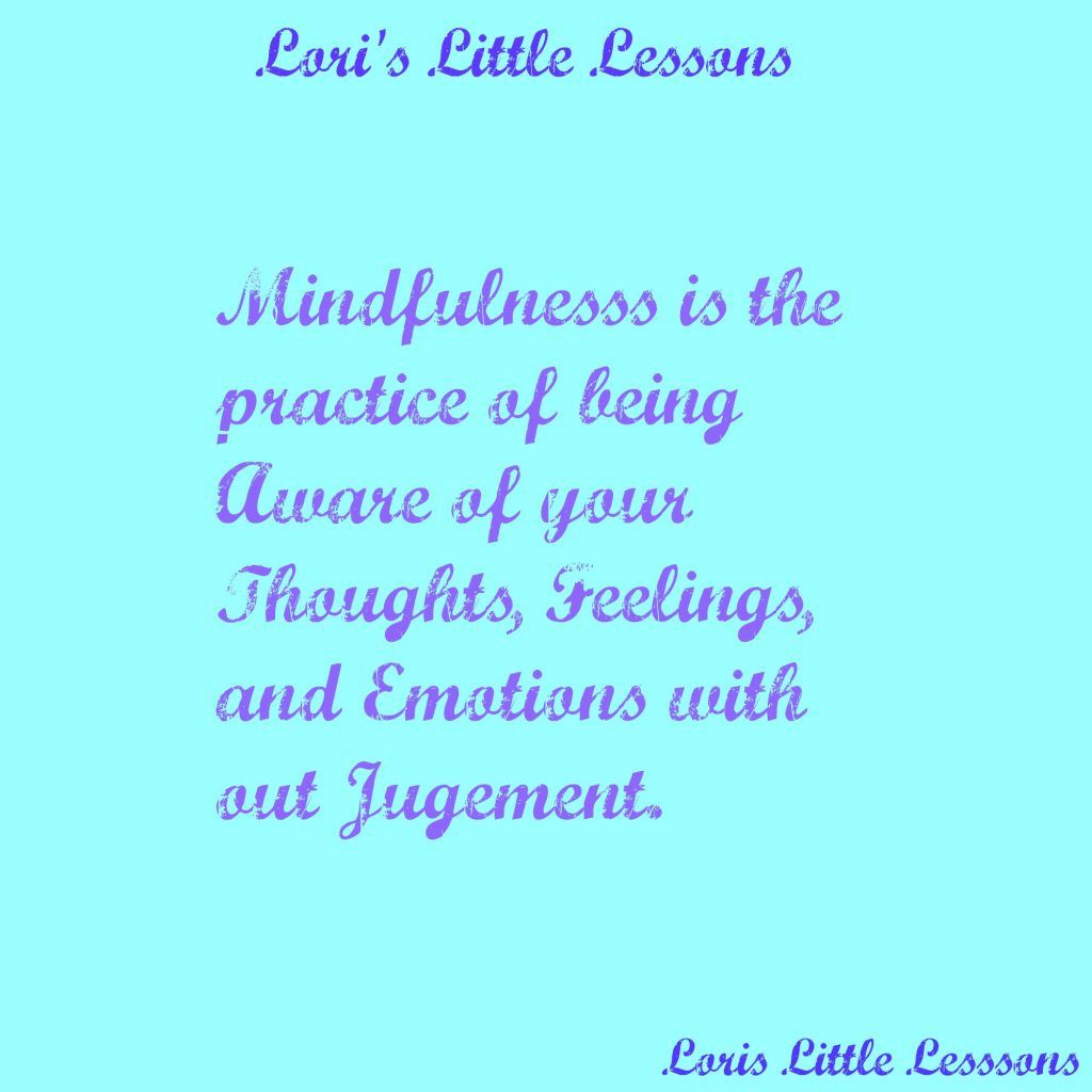 Mindfulness Observing Thoughts And Recognizing Emotion By