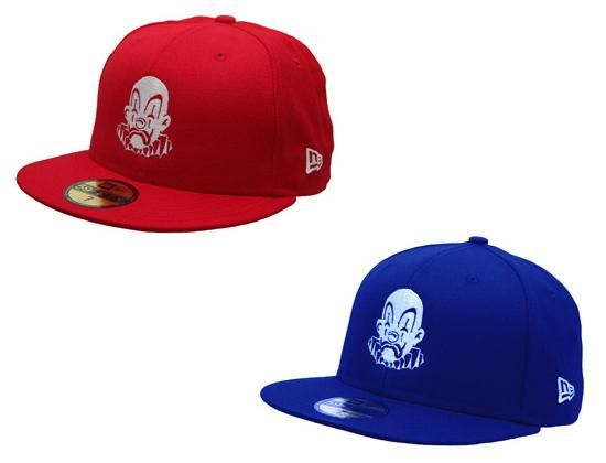 404ae876513 Clown 59Fifty Fitted Cap by JOKER x NEW ERA Fitted Baseball Caps
