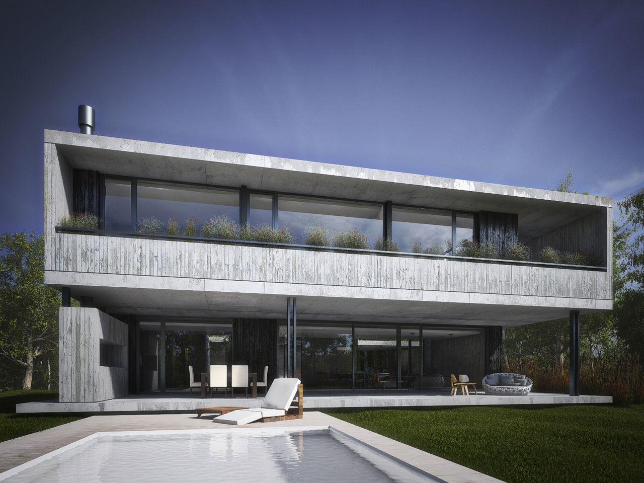 Proyecto direcci n y construcci n de casas edificios for Casas modernas residenciales