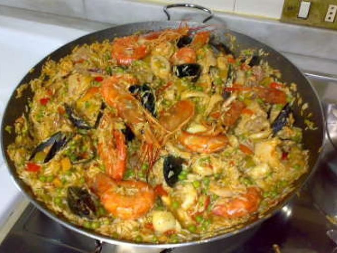 Photo of Paella, Petitchef recipe-Paella, Ricetta Petitchef  A typica…