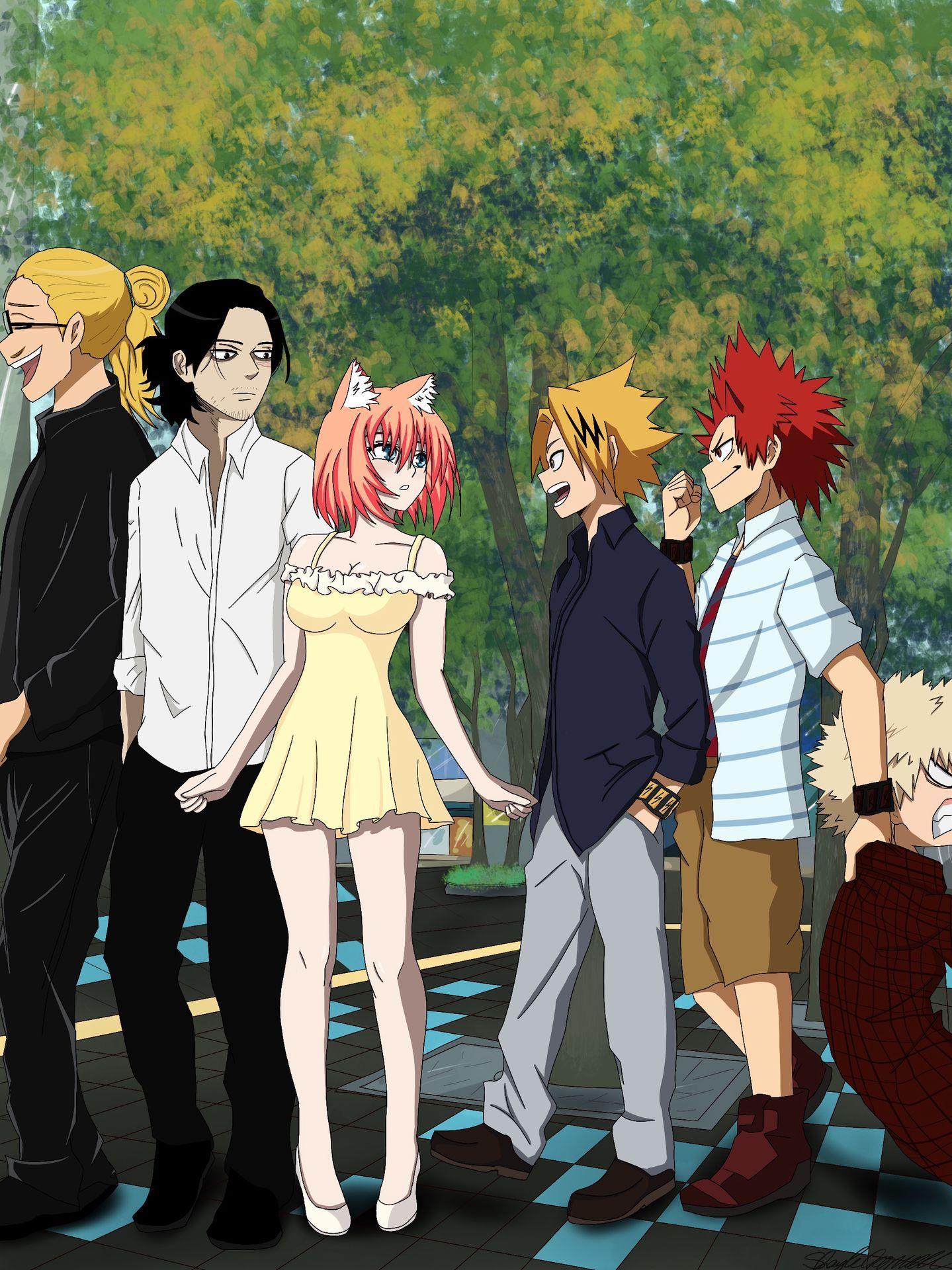 Aizawa X Oc Cute Stories My Hero Chapter