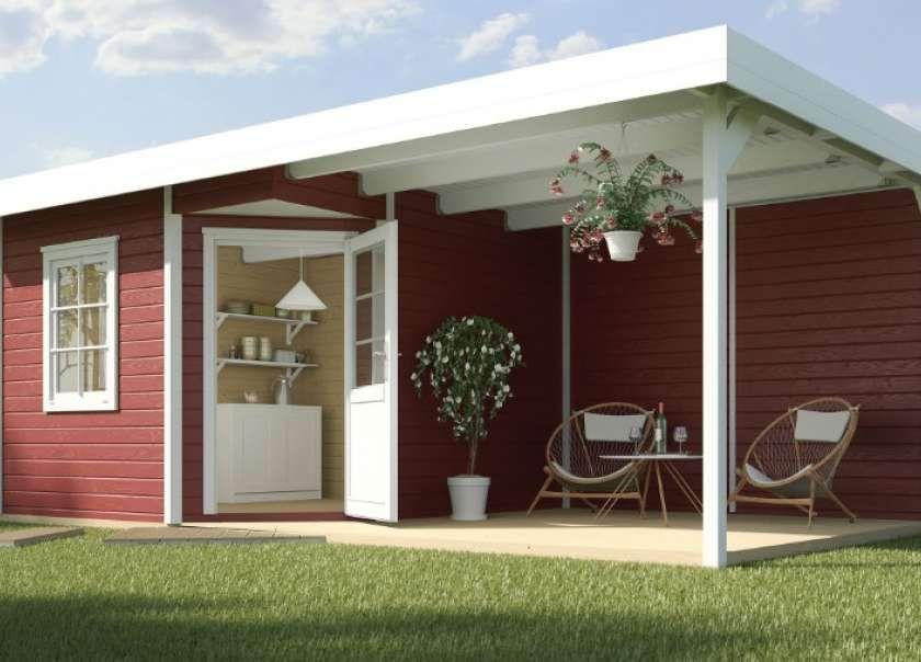 Gartenhaus mit Flachdach kaufen. Schnelle & unkomplizierte