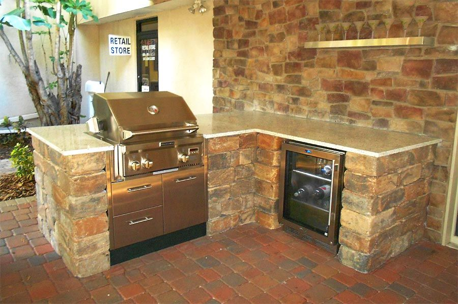 Orlando Fl Outdoor Living Builder Summer Kichen Contractor Rustic Outdoor Kitchens Outdoor Kitchen Outdoor Kitchen Design