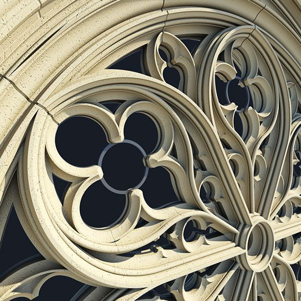 Gothic Rose Window Tracery on Behance