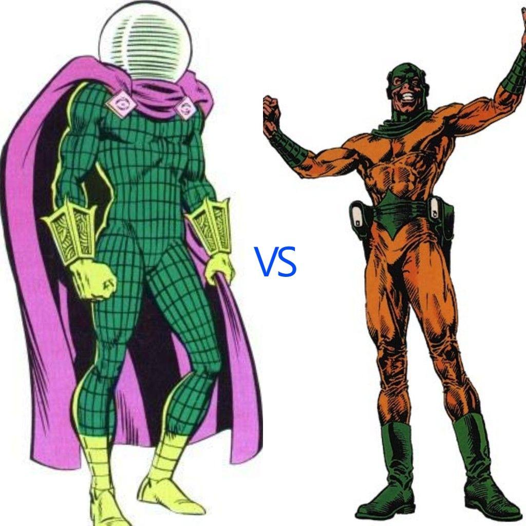 Mysterio vs mirror master