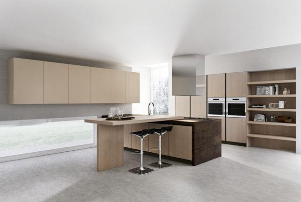 cuisine moderne en bois par armony cucine   architecture