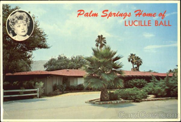 Palm Springs Ca Palm Springs Home Of Lucille Ball Palm