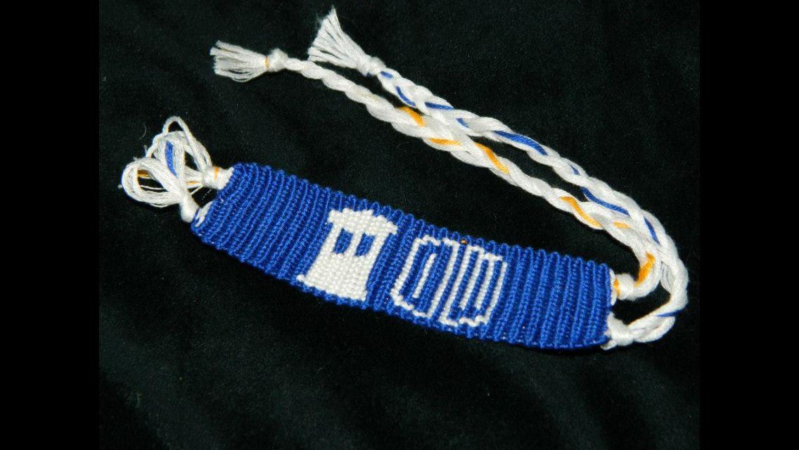 Doctor Who bracelet; $7.50.