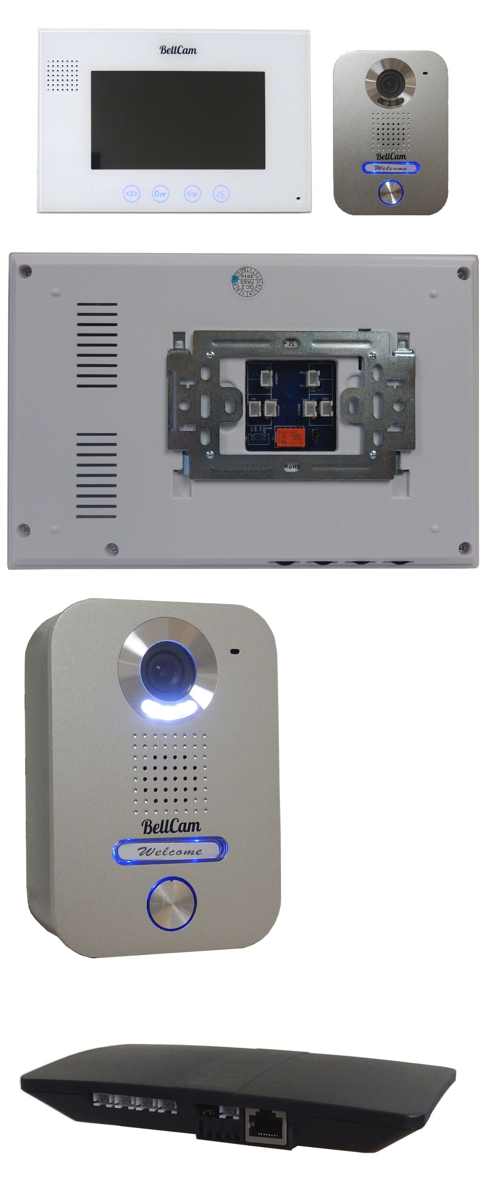 Security Systems 41969: Video Door Entry Intercom 2-Wires System ...