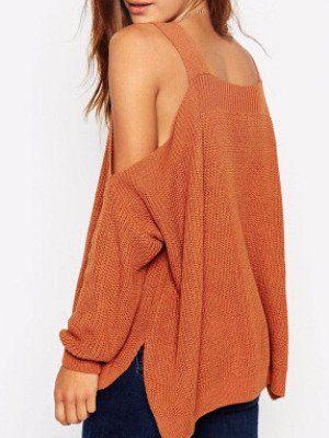 Shrug It Off Off-the-Shoulder Sweater | Shoulder and Cotton