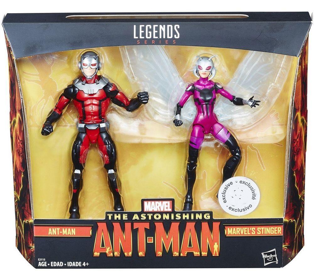 """MARVEL LEGENDS 6/"""" Ant-Man et la guêpe Ant-Man Figure no BAF"""