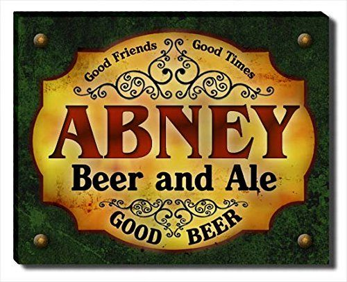 Abney Beer & Ale Stretched Canvas Print ZuWEE…