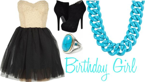 """""""Birthday Girl"""" by jaclynhehe ❤ liked on Polyvore"""