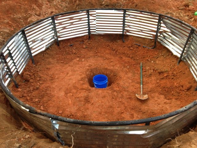 In ground trampoline dyi gardening pinterest ground for How to put a trampoline in the ground