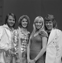 STILL LOVE THEM: ABBA was a Swedish pop group formed in Stockholm in 1972, comprising Agnetha Fältskog, Benny Andersson, Björn Ulvaeus and Anni-Frid Lyngstad.