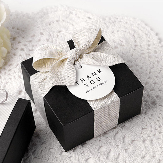 Black Boxes Small Plain Box With Lid Products Gift Box