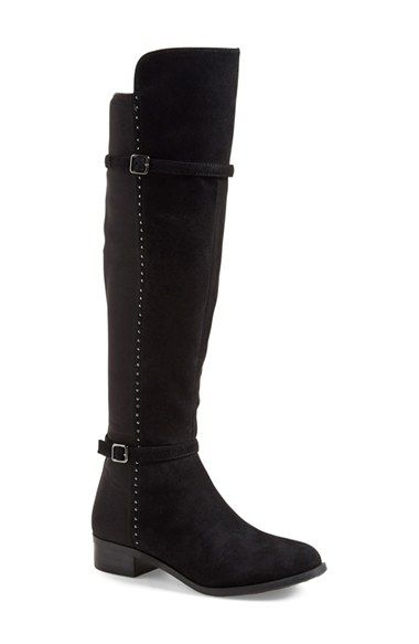 320cc2377f6e30 Free shipping and returns on Ivanka Trump  Ohanna  Boot (Women) at  Nordstrom.com. Subtle studs lend chic street-style to a slimline boot shaped  from soft ...