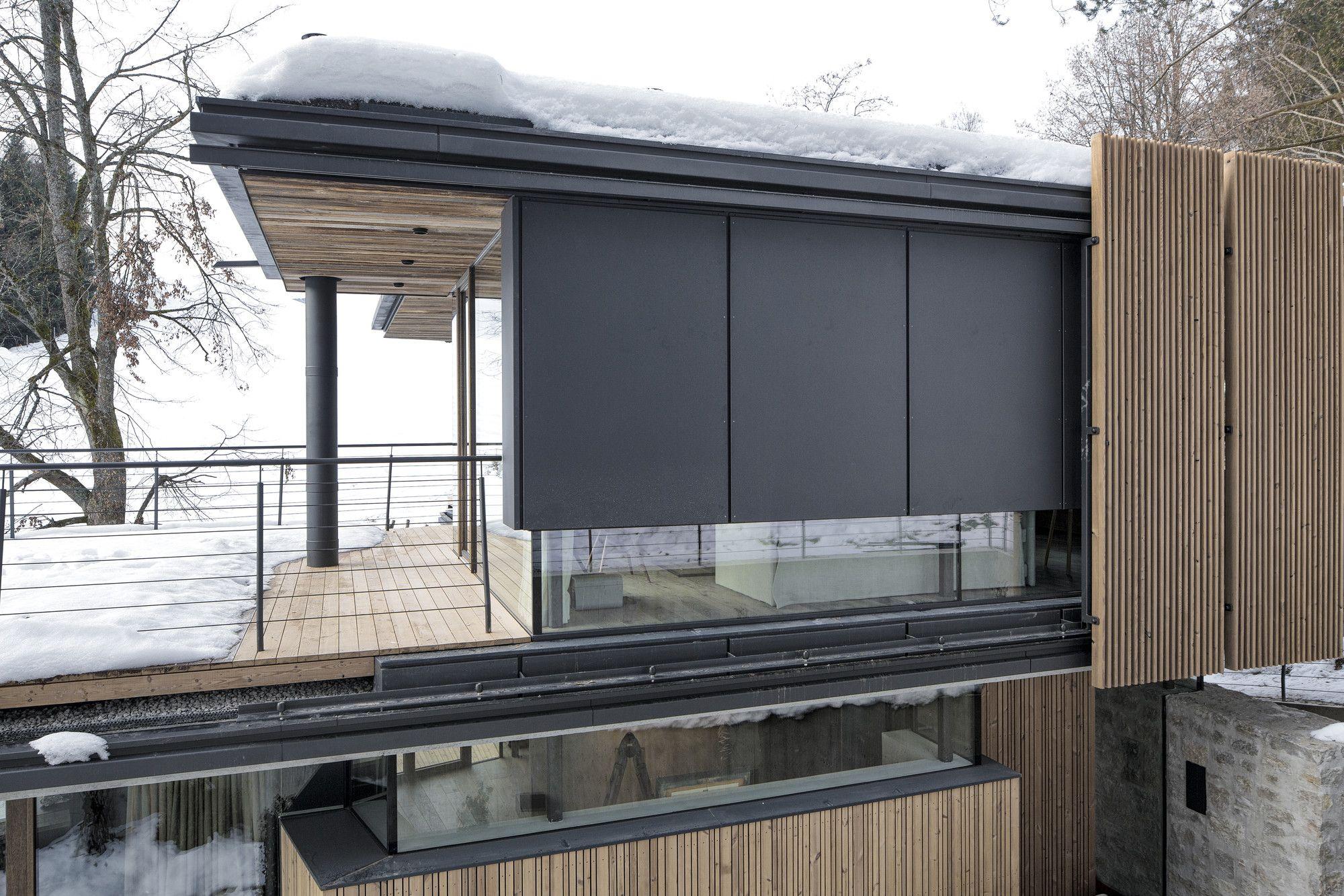 Architekten glasfassade dr house moderne häuser alpen mario fassaden österreich norwegen