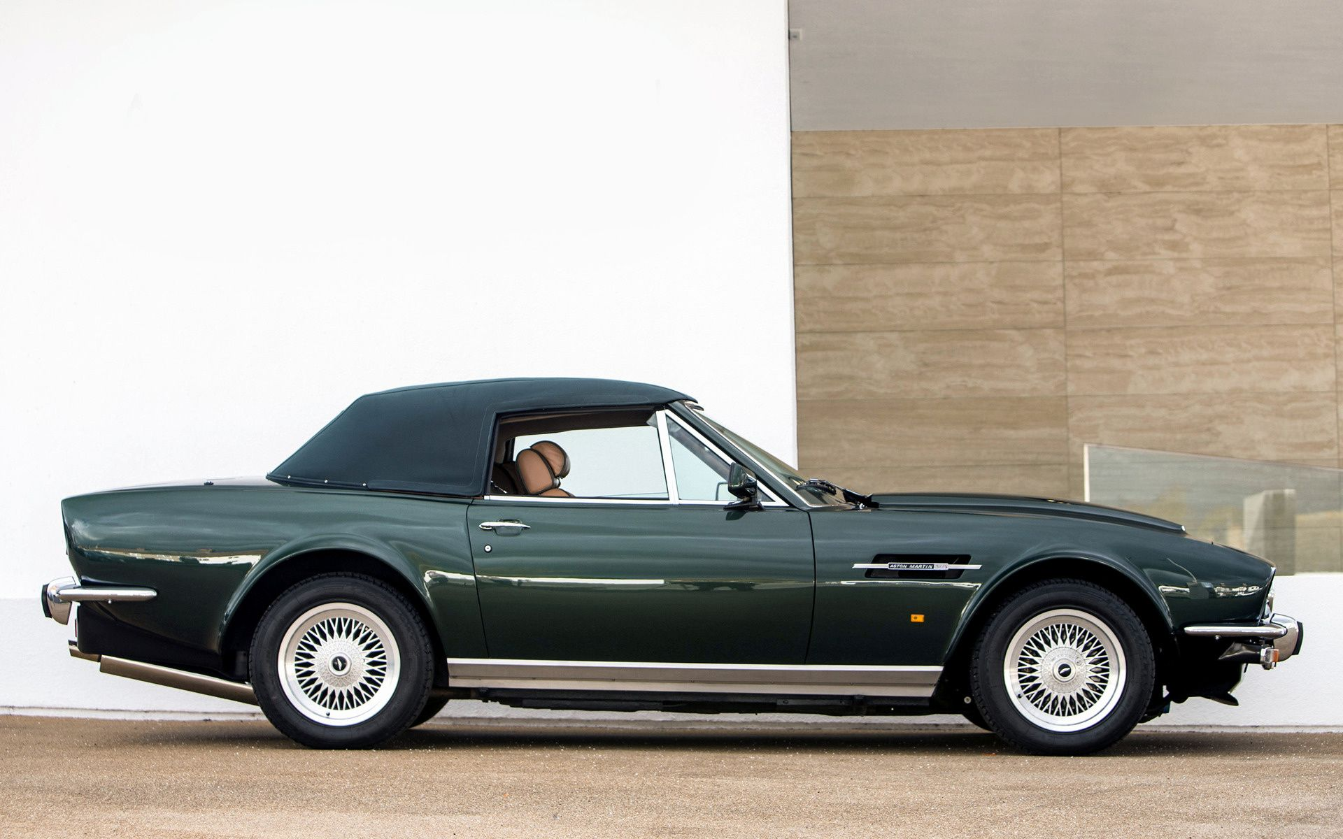 1989 Aston Martin V8 Vantage Volante Prince Of Wales Traumauto Autos